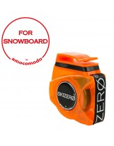 SKIZERO SNOWBOARD orange trasparent
