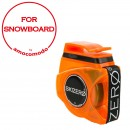 SKIZERO SNOWBOARD orange trasparent