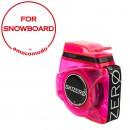 SKIZERO SNOWBOARD fucsia trasparent