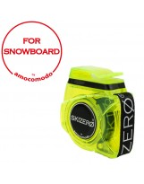 SKIZERO SNOWBOARD yellow trasparent