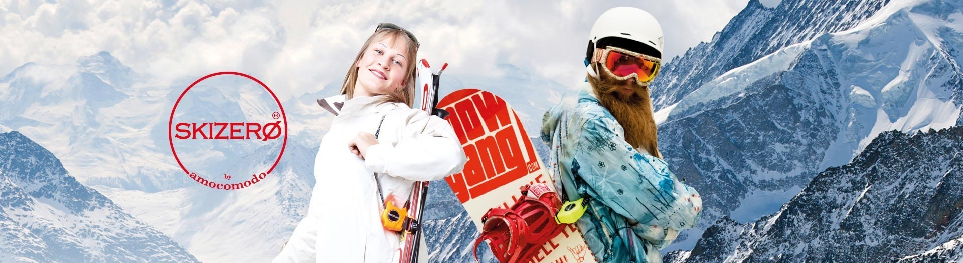 SKIZERO and SKIZEROSNOWBOARD by amocomodo